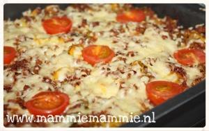 recept simpel ovengerecht met pasta