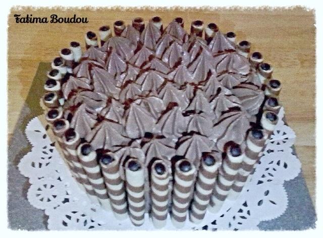 Chocolade taart maken