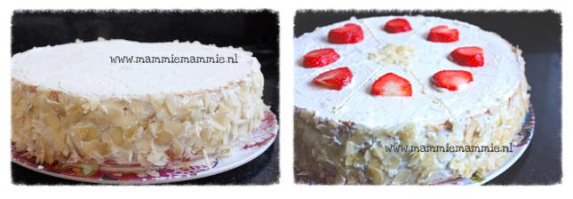 aarbeien taart maken