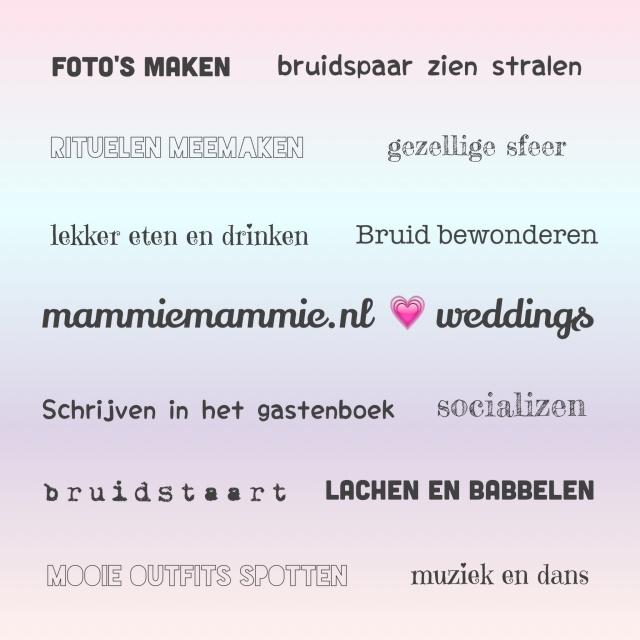 Redenen waarom bruiloften zijn leuk