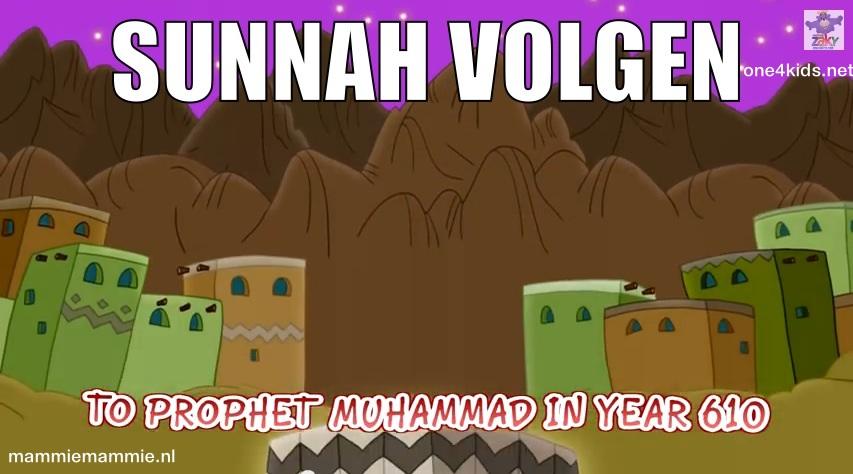 Sunnah volgen kinderen