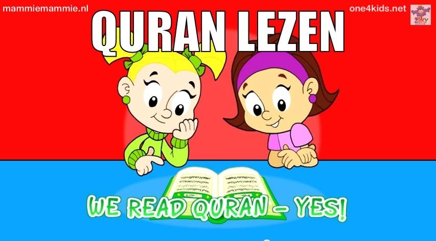 Quran lezen kinderen
