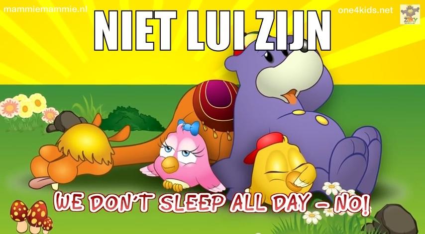 niet slapen ramadan
