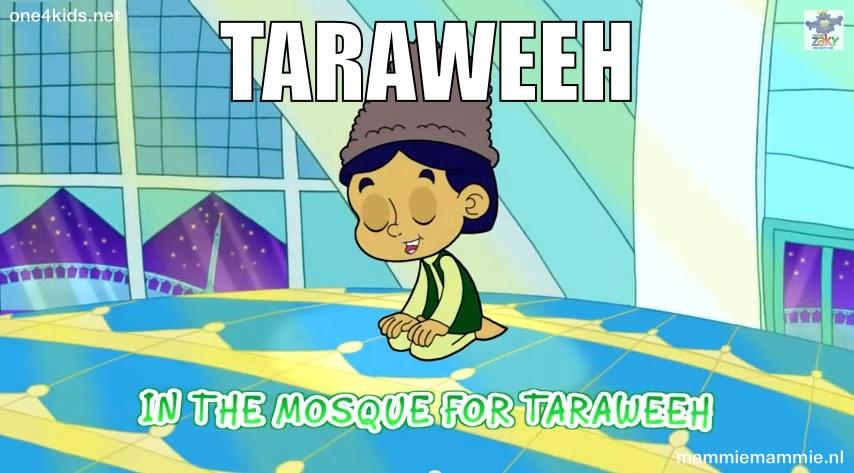 Taraweeh lezen kinderen