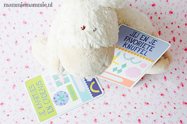 Favoriete knuffel milestone cards