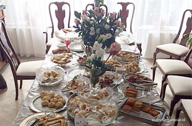 Eid high tea organiseren