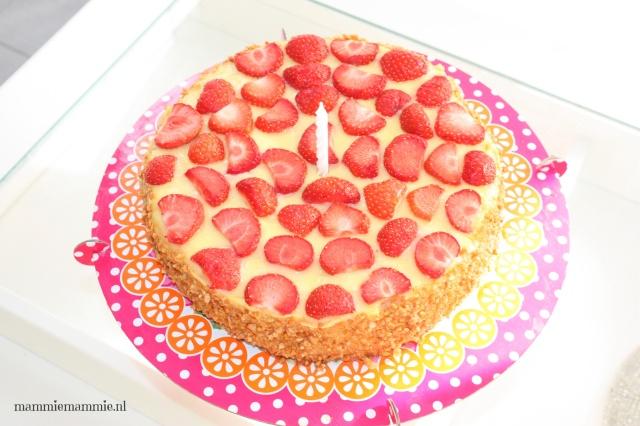 Homemade verjaardagstaart