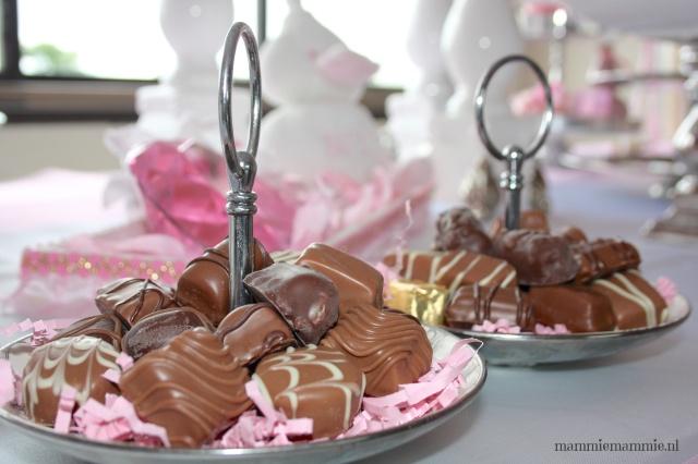 Chocolade kraamfeest ideetjes