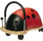 Houten speelgoed wheely bug baby 1 jaar